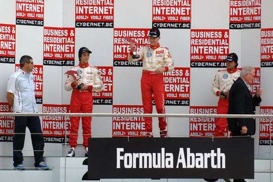 Formula Abarth: Marciello e Negrao dominano il weekend di SPA-Francorchamps