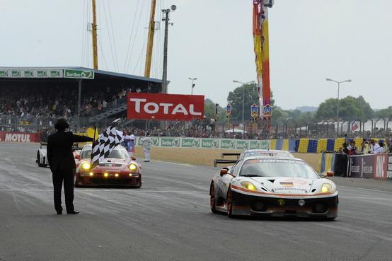 Le Mans: ottimo secondo posto per la Ferrari F430 GTC nella LMGT2