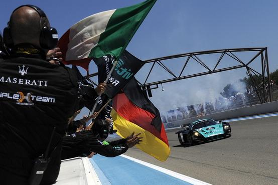 Mondiale GT1: Bartels e Bertolini dominano su Maserati MC12 la prova di Le Castellet