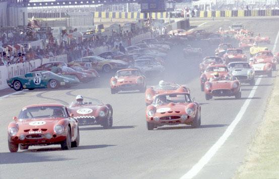 Le Mans Classic: al via nel weekend l'edizione 2010 con quattro Ferrari storiche sulla griglia