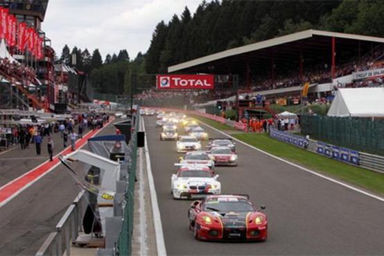 Porsche 911 vince la 24 Ore di Spa. Terza la Ferrari F430