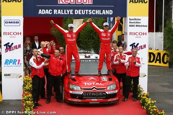 WRC Rally di Germania: Loeb ed Elena vincono per l'ottavo anno di fila