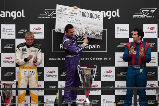 Davide Rigon è il campione 2010 della Superleague Formula