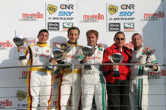 Supercopa: Fiumi e Iacone vincono la tappa del Mugello