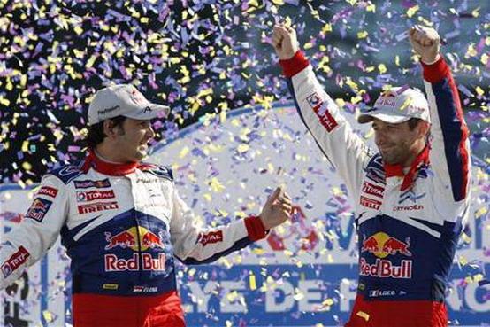 WRC 2010: Loeb ed Elena sono Campioni del Mondo!