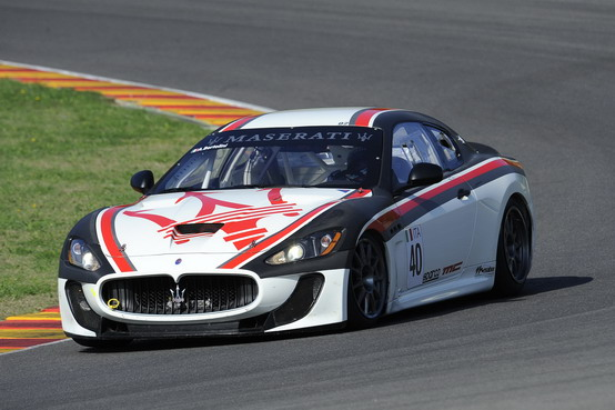 Vallelunga: Maserati parteciperà con due GranTurismo MC alle gare del weekend