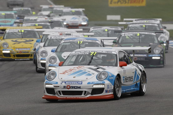 Porsche Carrera Cup Italia: gara speciale organizzata per il Motor Show 2010