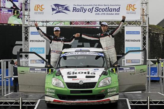 IRC 2011: Skoda Motorsport presente anche nella nuova stagione a Montecarlo