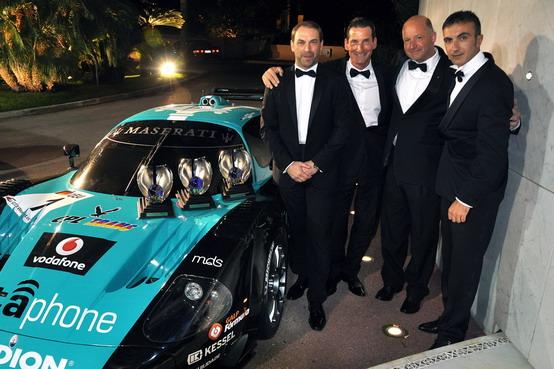 Mondiale GT1: Bartels, Bertolini e la Maserati MC12 premiati al FIA Galà di Montecarlo