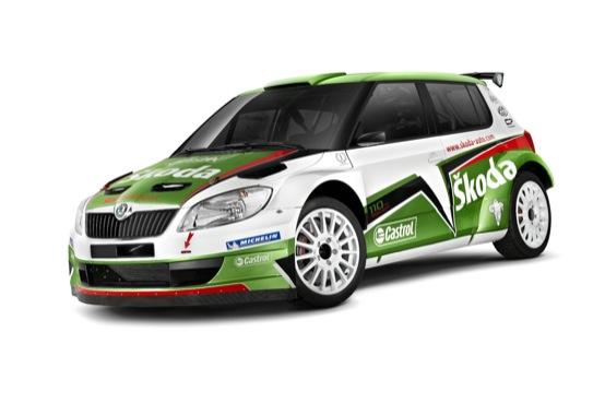 IRC 2011: ecco la nuova Skoda Fabia S2000 di Hänninen e Markkula
