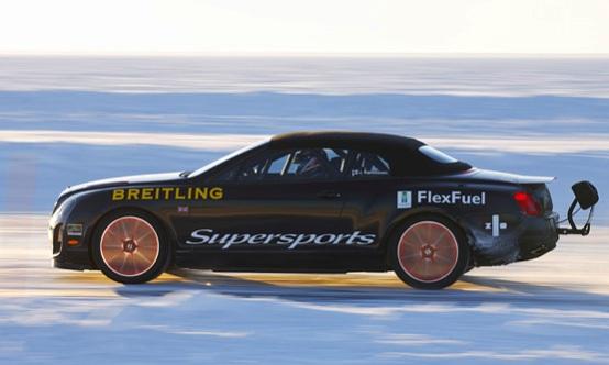 Kankkunen batte se stesso e vola a 330 orari sul ghiaccio