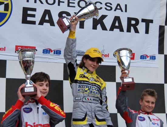 Alessandra Brena prepara l'ingresso in Formula Abarth