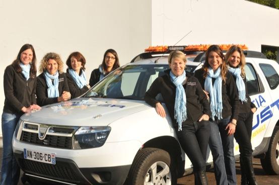 Women@Renault al Rally Aïcha des Gazelles 2011 con quattro equipaggi