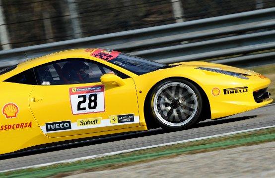 La Ferrari 458 Challenge di nuovo in pista a Monza