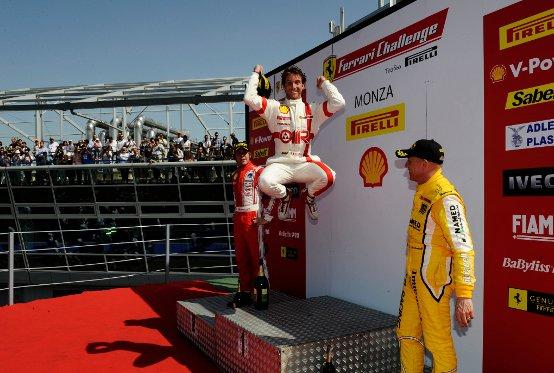Monza promuove a pieni voti la 458 Challenge
