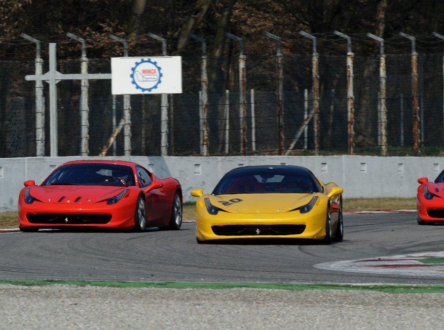 Ferrari: Appuntamento a Monza con la 458 Challenge