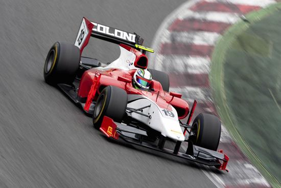 """GP2 – Davide Rigon """"Un buon inizio di test a Barcellona"""""""