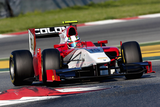 GP2 – Davide Rigon graffia i test di Barcellona