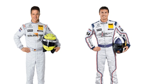 DTM 2011: la Mercedes si affida ancora a Ralf Schumacher e a David Coulthard