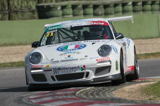 Porsche Targa Tricolore, la prima tappa di Imola va ad Angelo Rogari