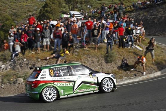 IRC 2011: Hänninen su Skoda vince il Rally delle Canarie