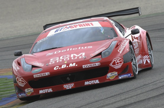 GT Sprint International Series: dominio rosso Ferrari sul circuito di Valencia