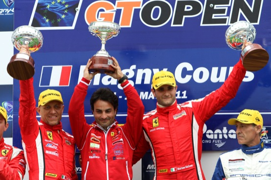 GT Open: Ferrari subito a segno a Magny Cours