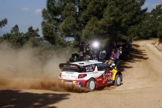 WRC 2011: Loeb ed Elena immensi anche nel Rally di Sardegna