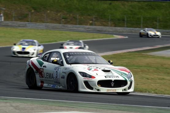 Trofeo Maserati GT MC, Norbert Kiss domina sul circuito di casa a Budapest