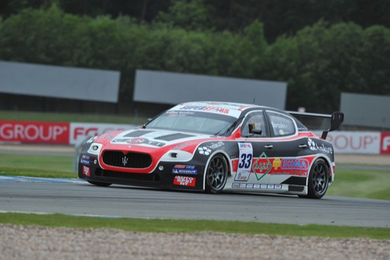 Superstars Series, Maserati dominatrice a Donington