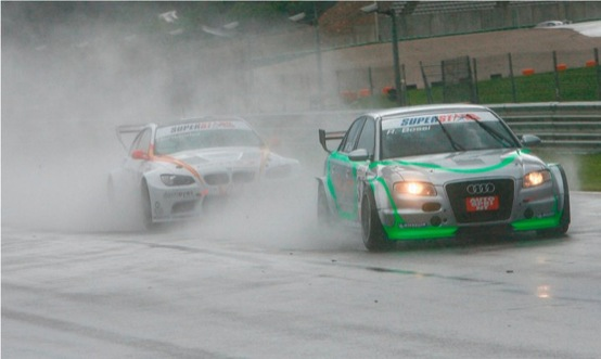 Superstars 2011, il weekend di Audi
