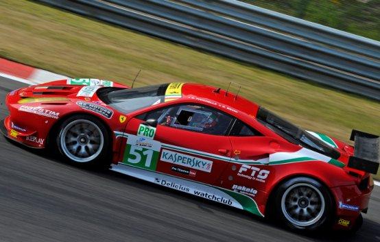 Il Ferrari Challenge apre la 24 Ore di Le Mans