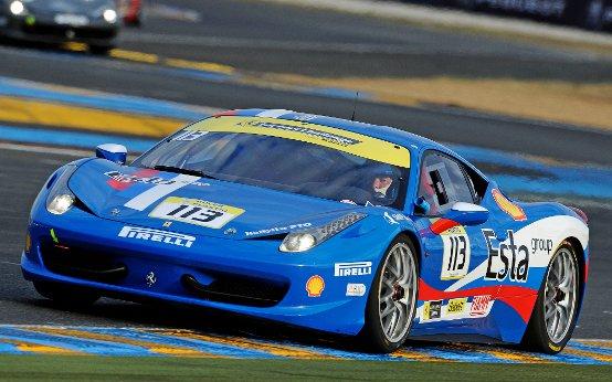 Ferrari: Vasiliev, Sernagiotto e Fascicolo inarrestabili a Le Mans