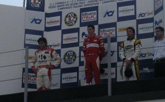 F3 Italia: Marciello conquista la sua prima vittoria