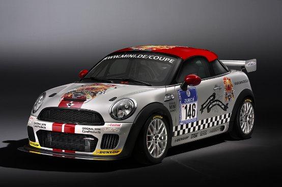 MINI John Cooper Works Coupé Endurance festeggia la sua prima mondiale nella 24 Ore del Nürburgring-Nordschleife
