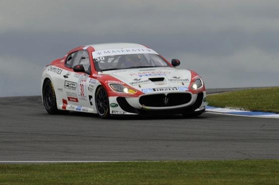 Trofeo Maserati GranTurismo MC, Sbirrazzuoli e Ardagna si aggiudicano la tappa inglese