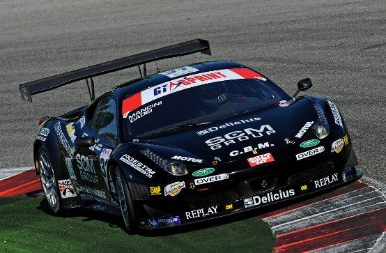 A Misano Ferrari protagonista anche nella GT Sprint
