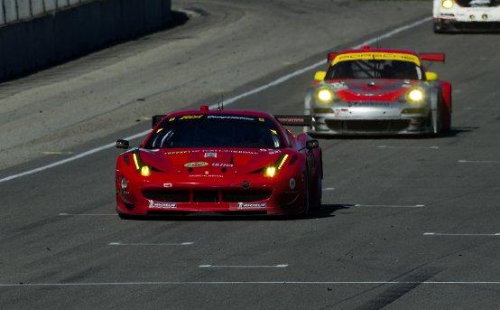 Podio mancato per la Ferrari a Laguna Seca