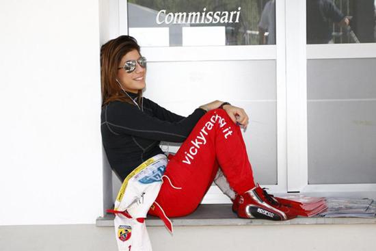 """Vicky Piria """"Bellissima l'esperienza con la GT Scirocco RCup"""""""