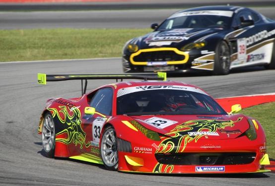 Ferrari regina nel GT3 ASIA