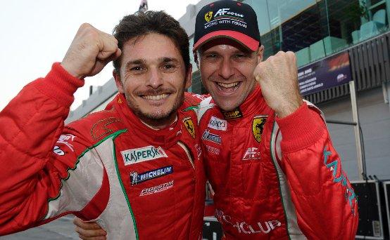 Ferrari imbattibile conquista l'ILMC. Alla Scuderia AF Corse va il titolo squadre