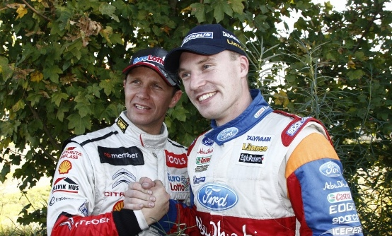 Latvala e Solberg al Memorial Bettega