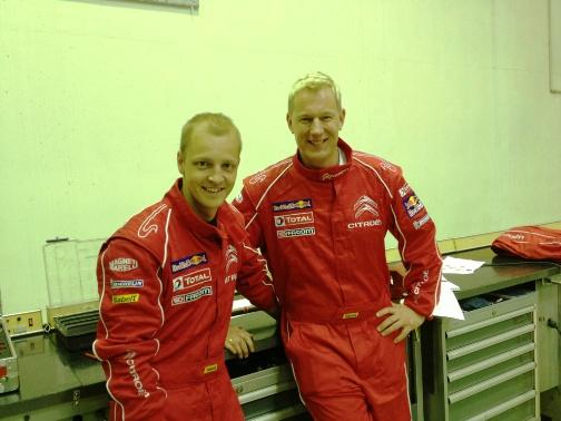 WRC – Hirvonen al Rally Finnskog