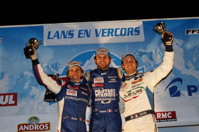 Rally: la Dacia Lodgy Ice si impone nel Trofeo Andros