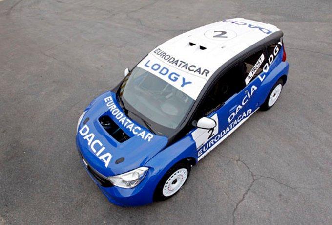 """Trofeo Andros: Dacia Lodgy """"Ice"""" inizia l'anno con una doppietta"""