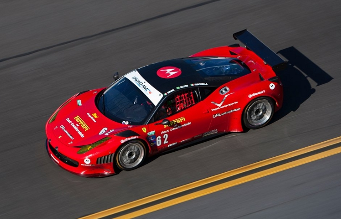 Test a Daytona per le 458 Grand AM di Risi Competizione