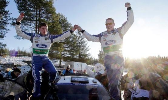 Rally di Svezia: Latvala trionfa nel giorno dei quindici anni di collaborazione Ford-MSport