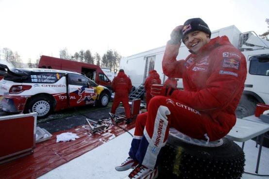 Al Rally Finnskog trionfa Hirvonen