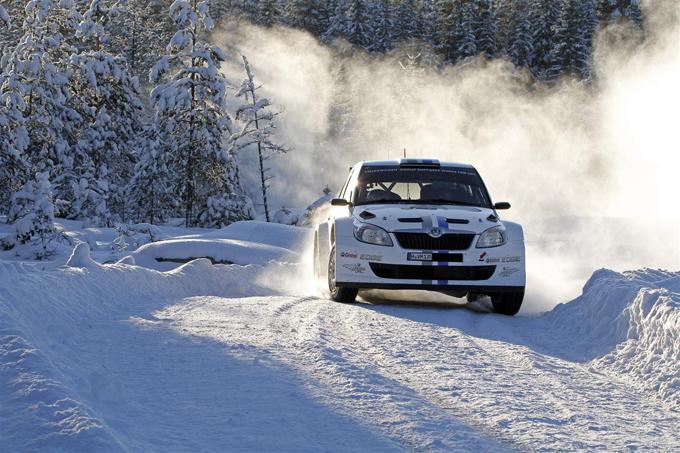 Anche Ogier festeggia al Rally di Svezia