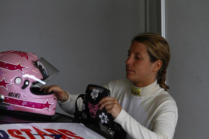 La F3 si tinge di rosa con Michela Cerruti